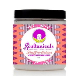 Fluffalicious Curl Nutricious Crème Hydratation Intense.