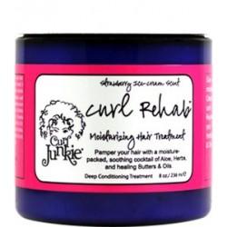 CURL REHAB - MOISTURIZING HAIR TREATMENT-Strawberry Ice Cream Scent