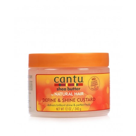 Cantu - Define and Shine Custard - Gel Bouclant Brillance