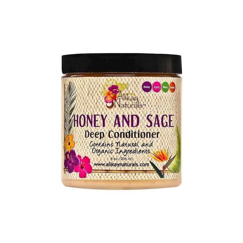 Alikay Naturals Masque Hydratant Honey and Sage - 236ml