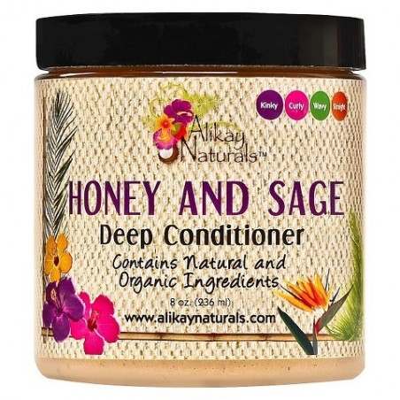 Alikay Naturals Masque Hydratant Honey and Sage