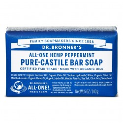 DR. BRONNER'S- Bar Soap - Peppermint