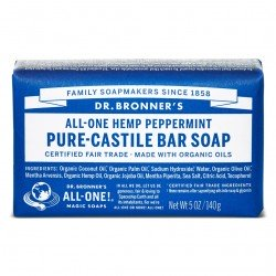 DR. BRONNER'S- Pure Castille Soap - Solid - Peppermint