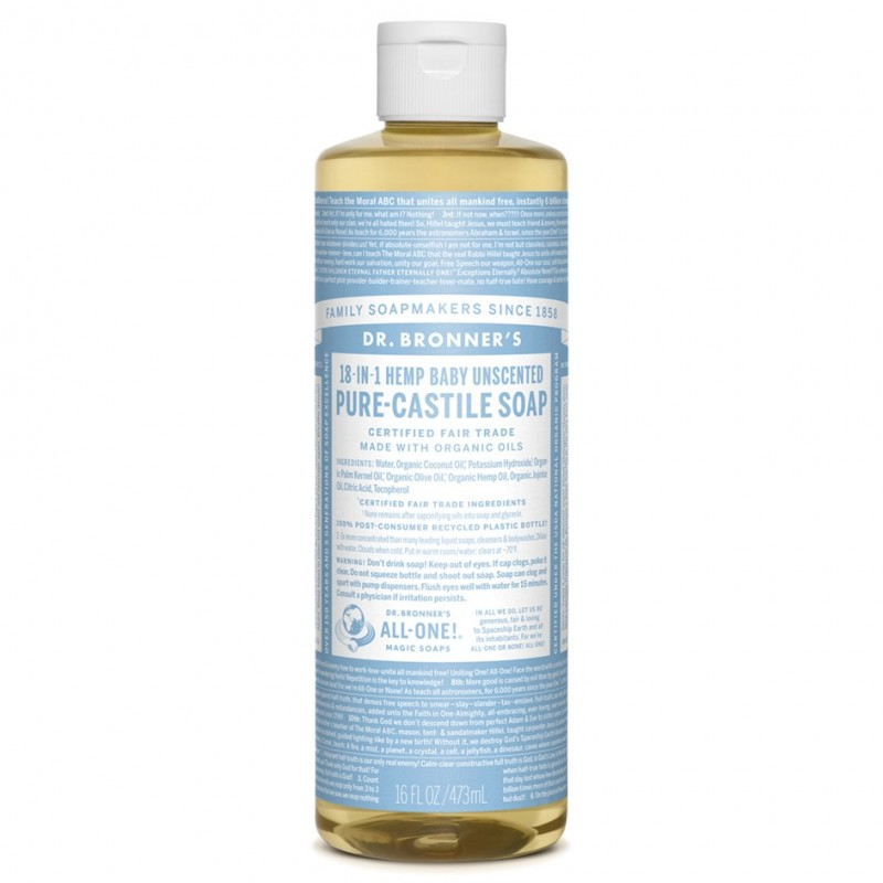 DR. BRONNER'S-Pure-Castile Liquid Soap - Baby Unscented