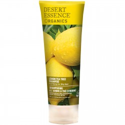 Organic Lemon Tea Tree Clarifying Shampoo
