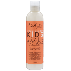 Coconut & Hibiscus Kids 2-In-1 Curl & Shine Shampoo & Conditioner