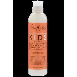 Shampoing & Après shampoing Spécial Boucles - 2 en 1 - Curl & Shine