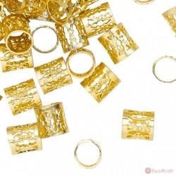 Filigree tube Gold