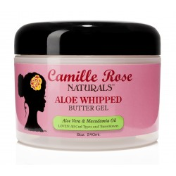 Camille Rose Naturals - Gel Définition Intense à l'Aloé - Aloe Whipped Butter Gel