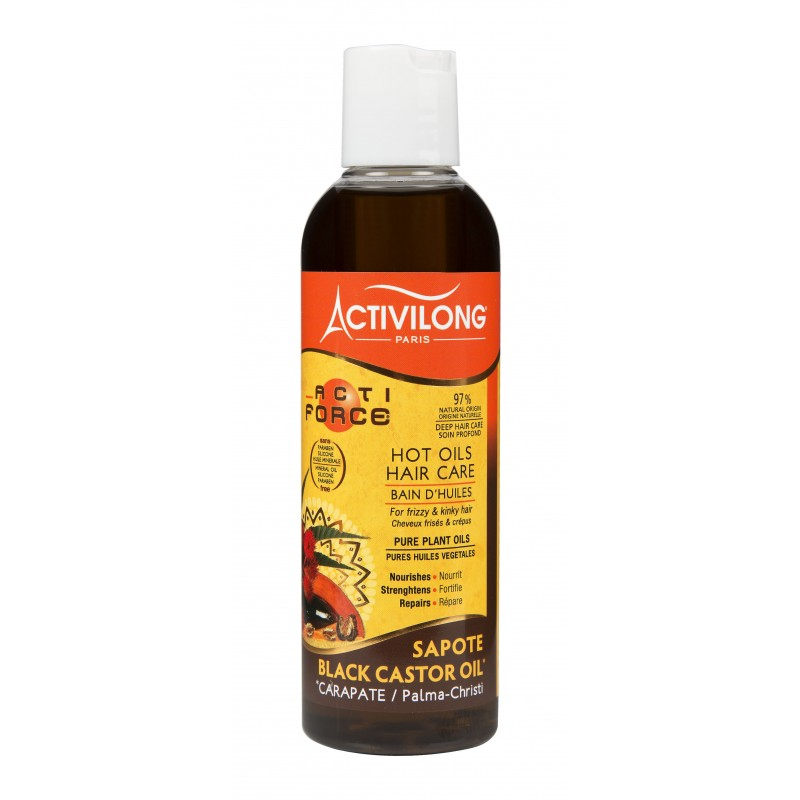 Hot Oil Treatment -Sapote and Black Castor Oil - ActiForce