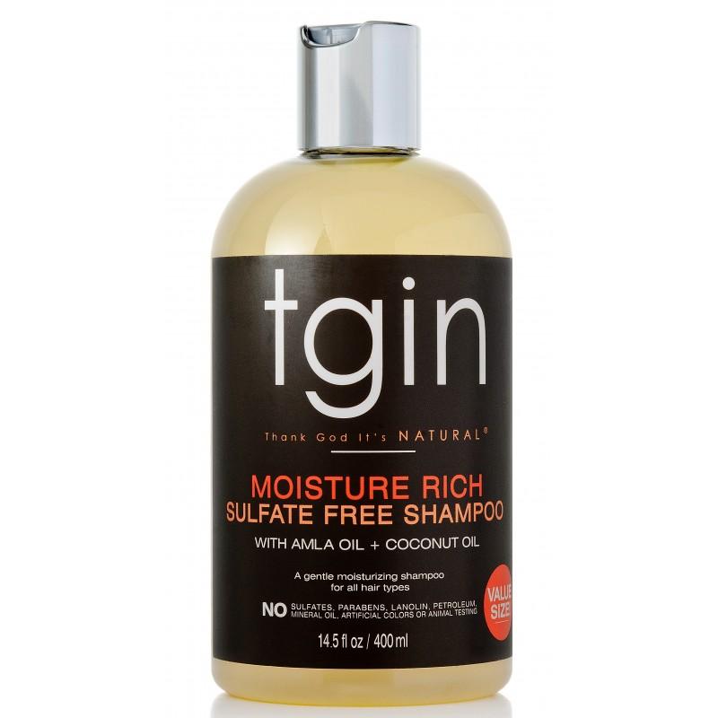 Tgin - Moisture Rich - Shampoing Hydratant Sans Sulfate