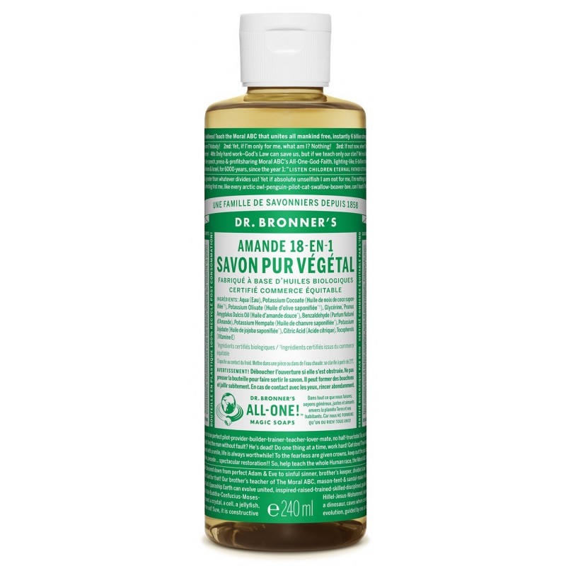 DR. BRONNER'S- Pure Castille Soap - Almond