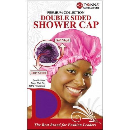 Bonnet de douche doublé éponge - Anti-humidité - Anti-shrinkage.