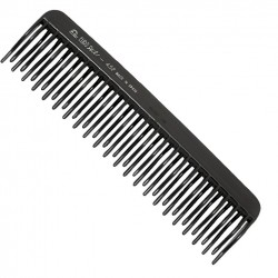 Comb with curved teeth...