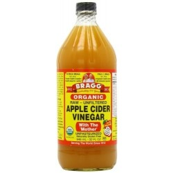 Bragg Apple cider Vinegar Organic, Raw, Unfiltered, with the 'Mother' 946 ml