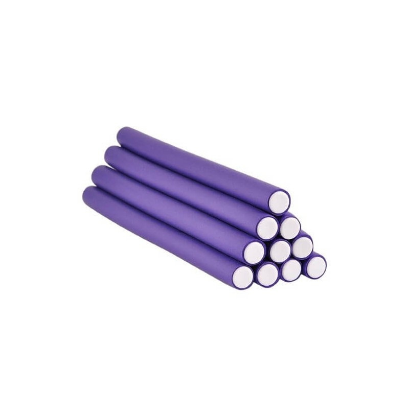 12 Flexi Rod Set Purple