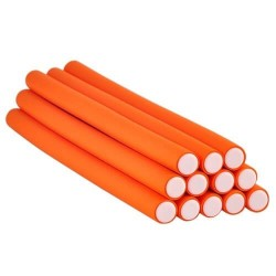 12 Flexi Rod Orange diamètre 1,6 cm