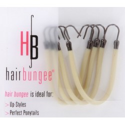 Hair Bungee Silicone - Session Master -Blonde