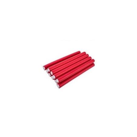 12 Flexi Rods Rouge diamètre 1,2 cm
