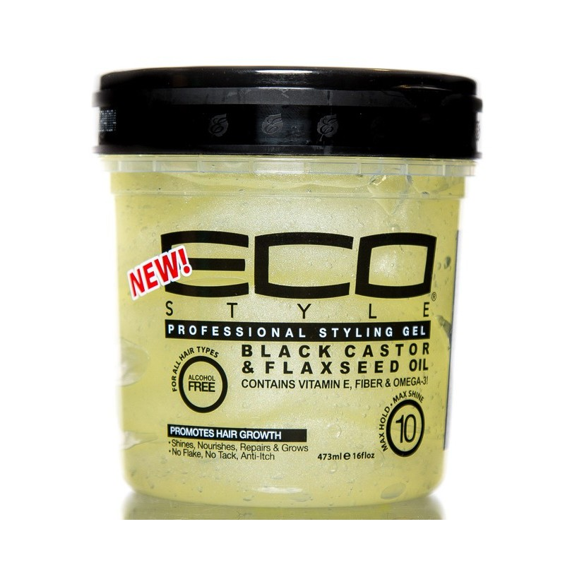 Gel Eco Styler à l'Huile de Karapate et Graines de Lin - 236 ml