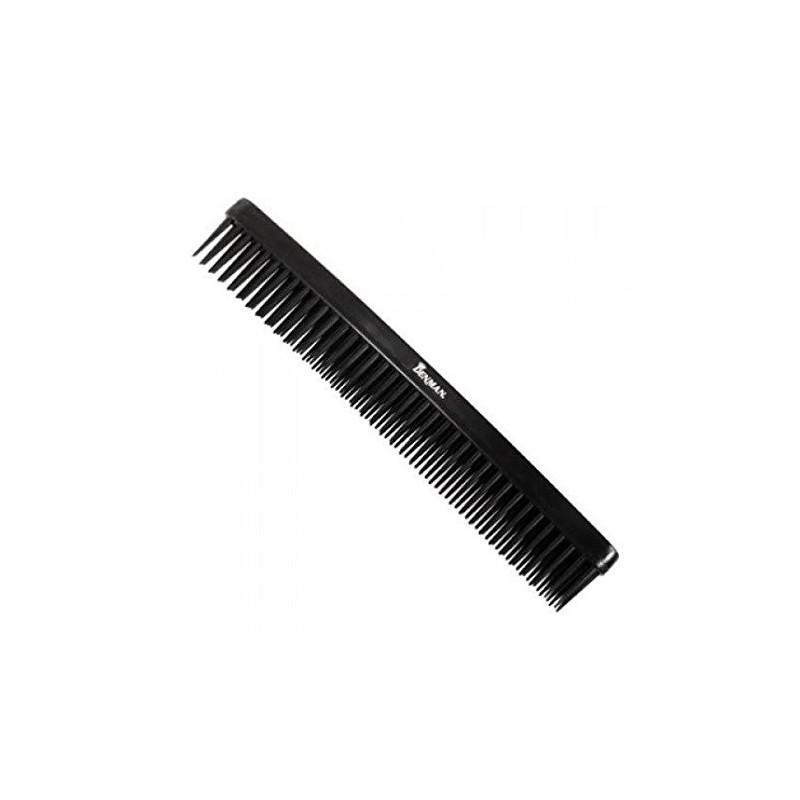 D12 Black three rows comb