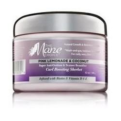 Curl Boosting Sherbet Pink Lemonade & Coconut