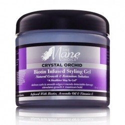 Gel Bouclant Infusé à la Biotine - Crystal Orchid