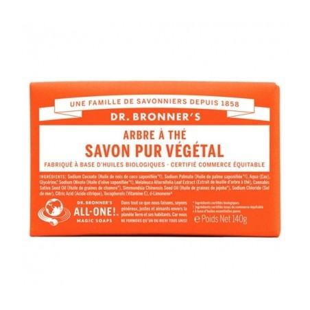 DR. BRONNER'S- Savon solide - Arbre à Thé
