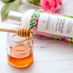 Rose & Honey Milk Leave-in Conditioner - Flora & Curl