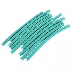 12 Flexi Rods Green diamètre 0,8 cm