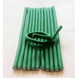 12 Flexi Rods Green diamètre 0,8 cm
