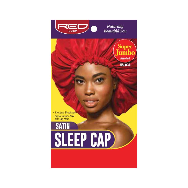 Satin Sleep Cap - Super Jumbo - Color