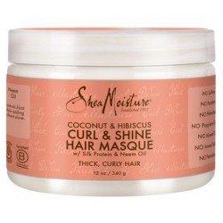 Coconut Hibiscus Curl and shine Masque Hydratant Brillance