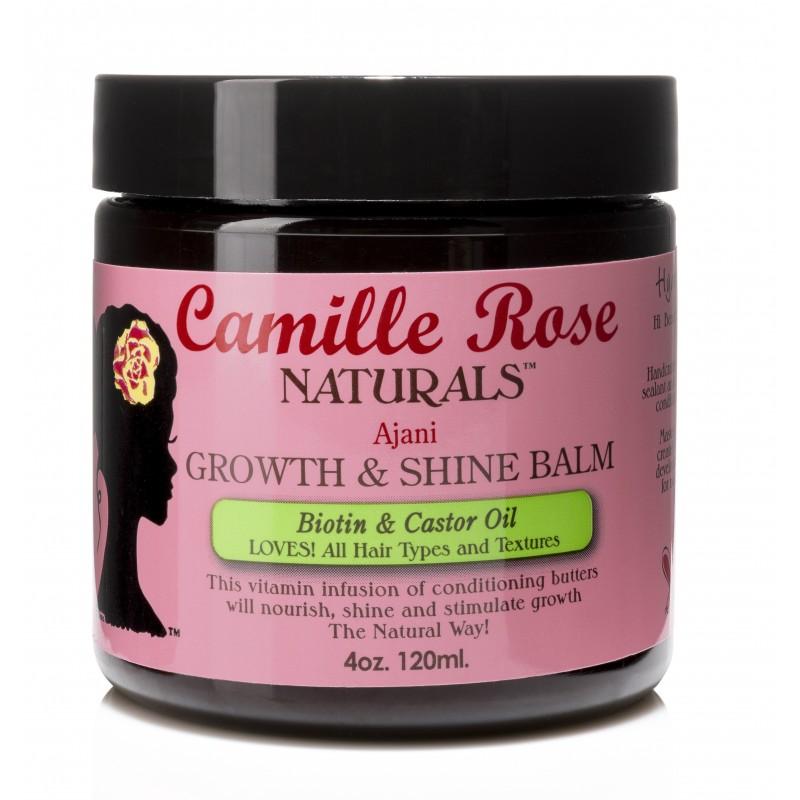 Camille Rose Naturals - Baume Activateur de Pousse - Ajani Growth & Shine Balm