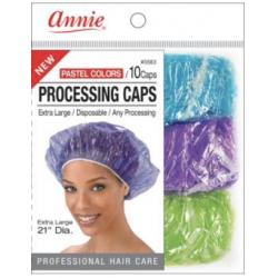 10 Charlottes pour soins profonds / Processing caps Extra Large Pastels