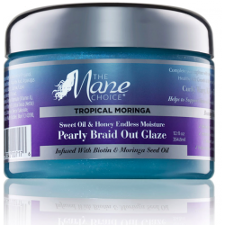 Tropical Moringa Endless Moisture Pearly Braid Out Glaze