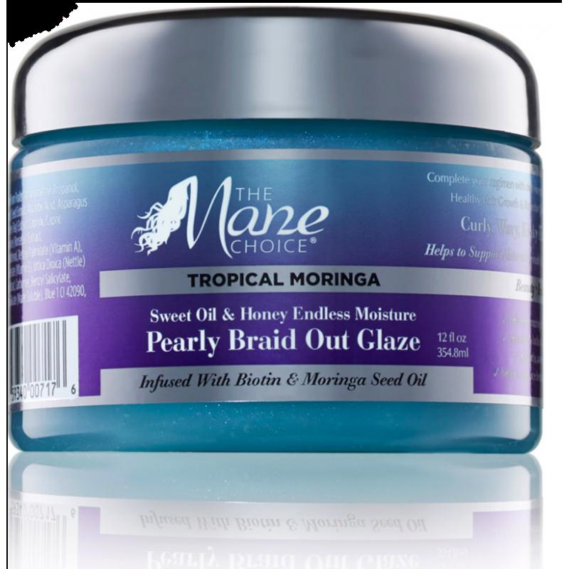 Tropical Moringa Endless Moisture Pearly Braid Out Glaze