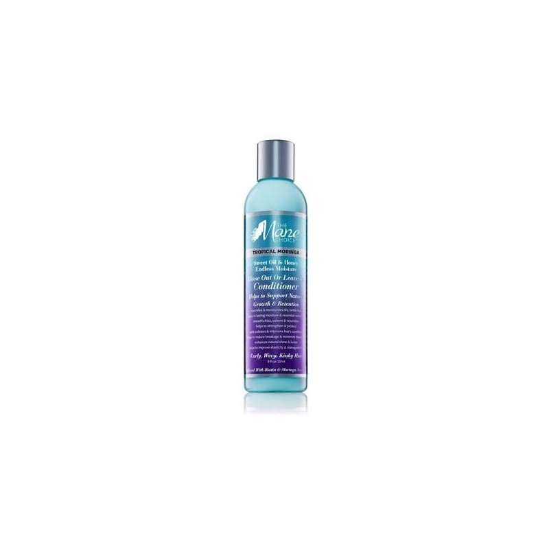 Tropical Moringa Sweet Oil & Honey Endless Moisture Rinse Out or Leave-In Conditioner