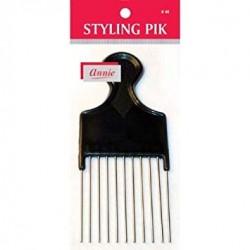Peigne Styling Pik- Dents Metal Spécial Volume