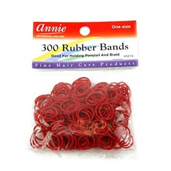 300 Rubber bands Red