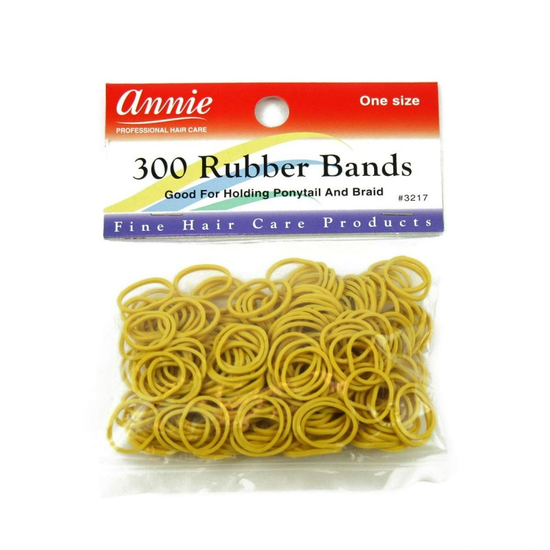 300 Rubber bands Yellow
