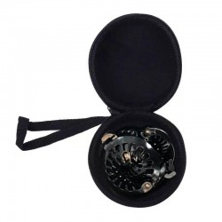 PuffCuff ROUND Hardcover Carrying Travel Case - Petite