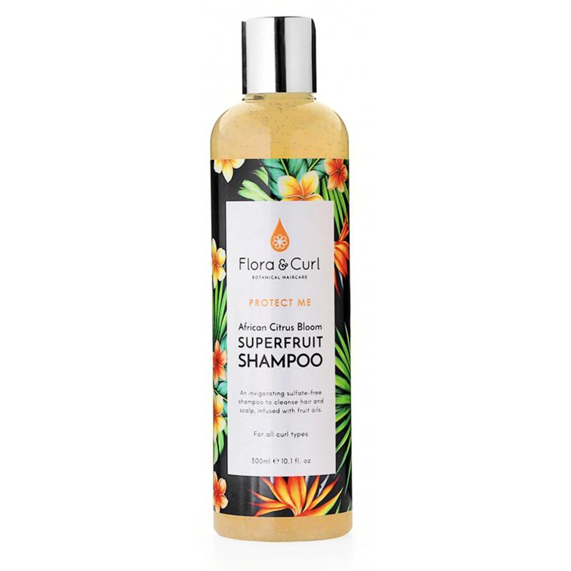 African Citrus Shampoo - Flora & Curl