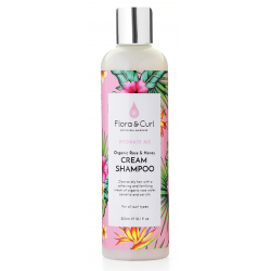Shampoing Crémeux à la Rose Bio et au Miel - Flora Curls - 300ml