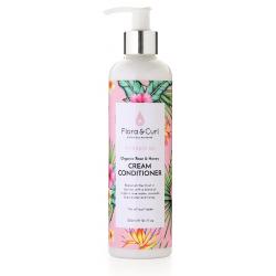 Organic Rose & Honey Cream Conditioner - Flora & Curl - 300ml