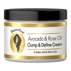 Avocado & Rose Oil Clump and Define Cream- Bounce Curls