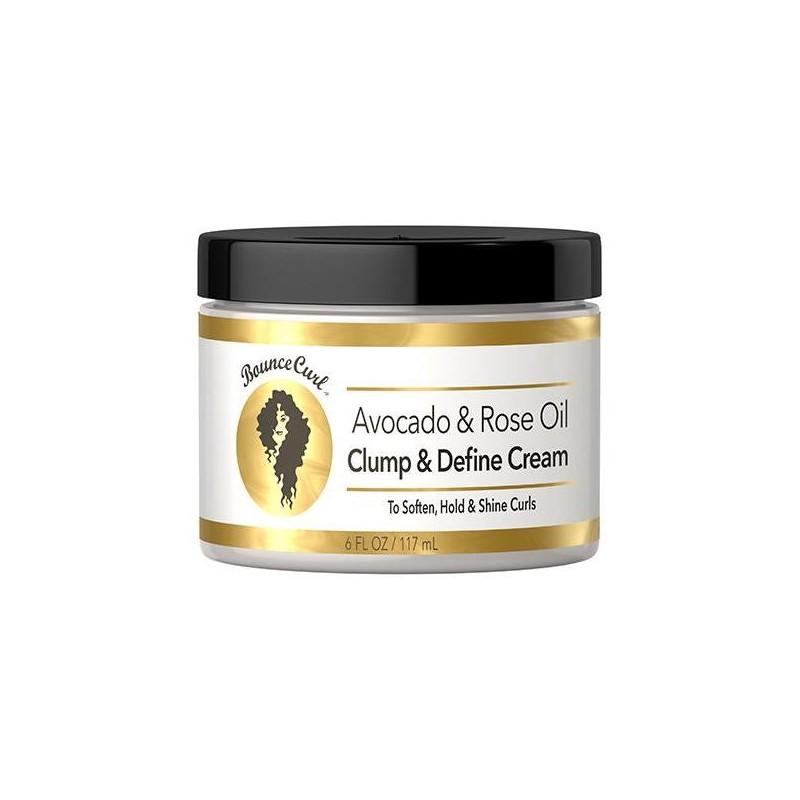 Avocado & Rose Oil Clump and Define Cream- Bounce Curls