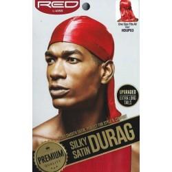 Durag - Satin Premium- Rouge