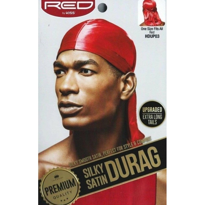 Premium Silky Satin Durag - Red