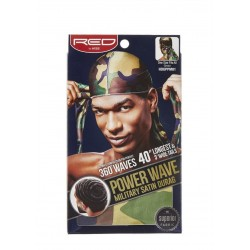 Durag - Power Wave - Satin Imprimé Militaire
